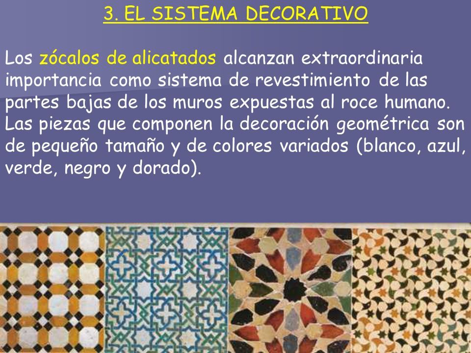 3. EL SISTEMA DECORATIVO
