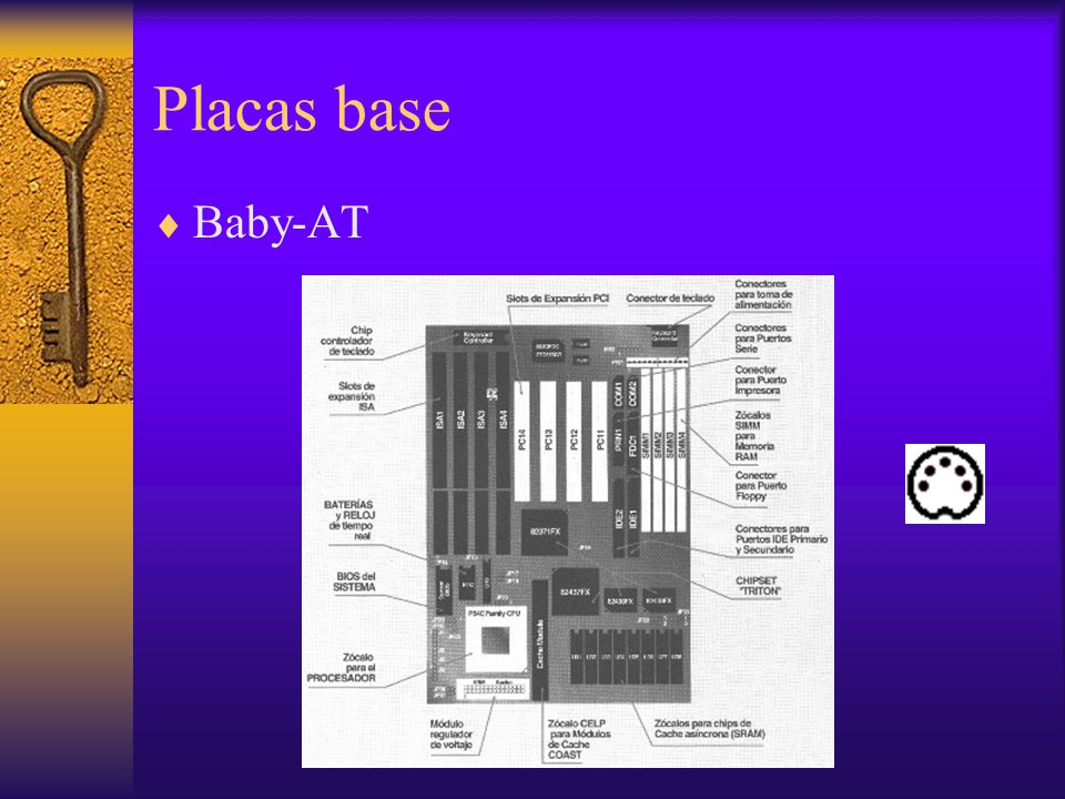 Placas base Baby-AT.