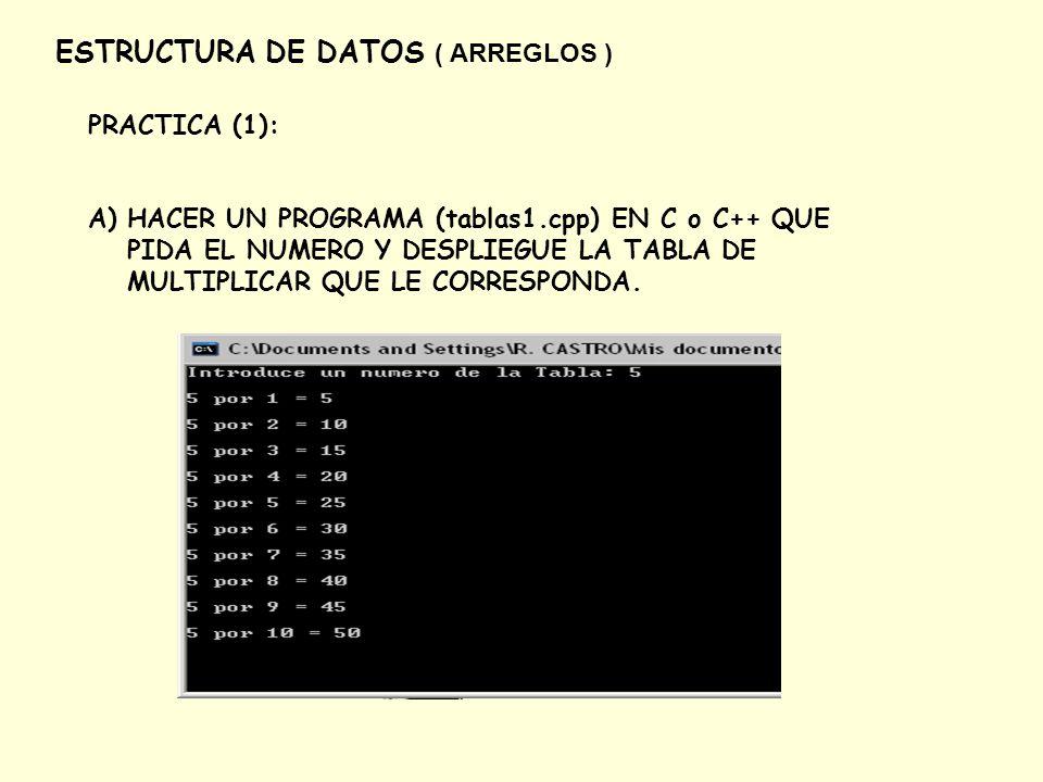 Arreglos Y Matrices Universidad Nacional Autonoma De Mexico