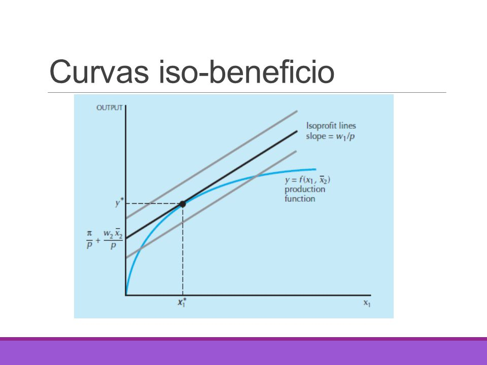 Curvas iso-beneficio