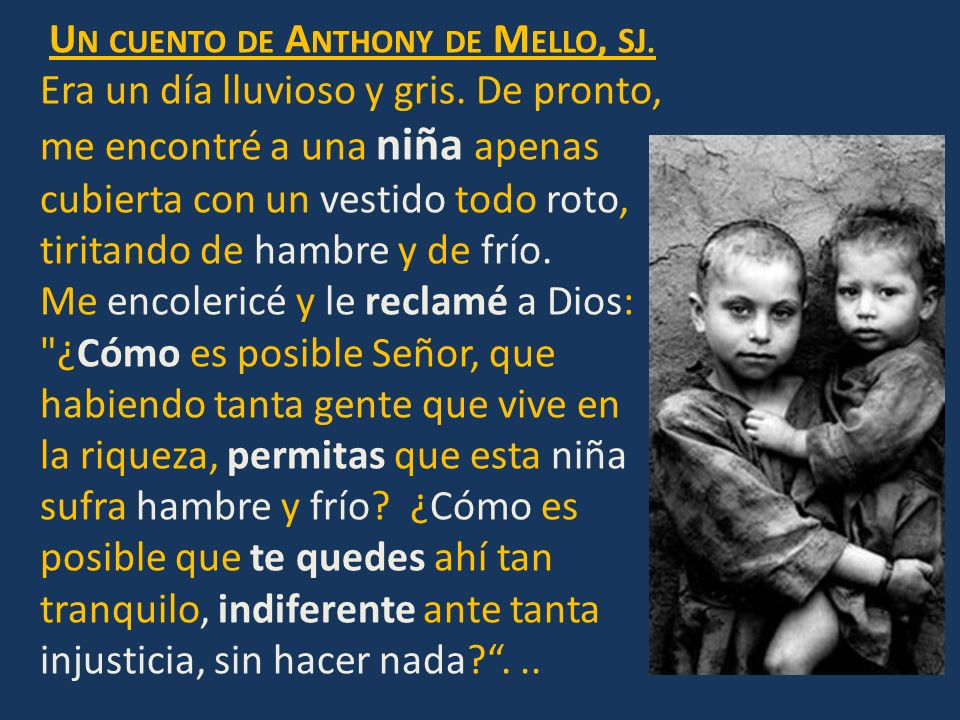 Un cuento de Anthony de Mello, SJ.