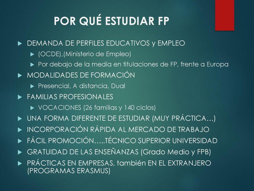 Ies Villaverde Oferta Formativa Ppt Descargar