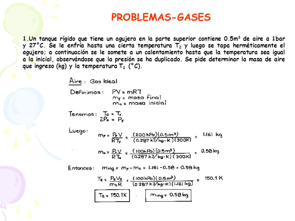 PROBLEMAS-GASES
