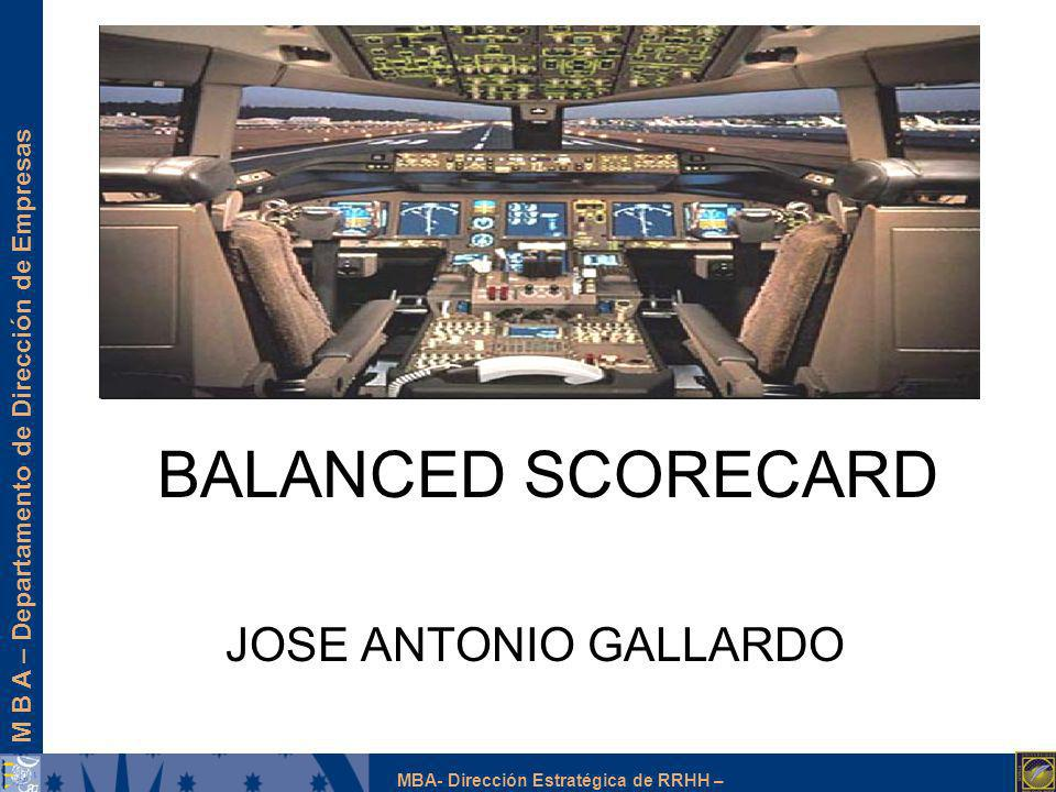 BALANCED SCORECARD JOSE ANTONIO GALLARDO