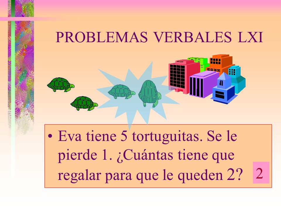 PROBLEMAS VERBALES LXI