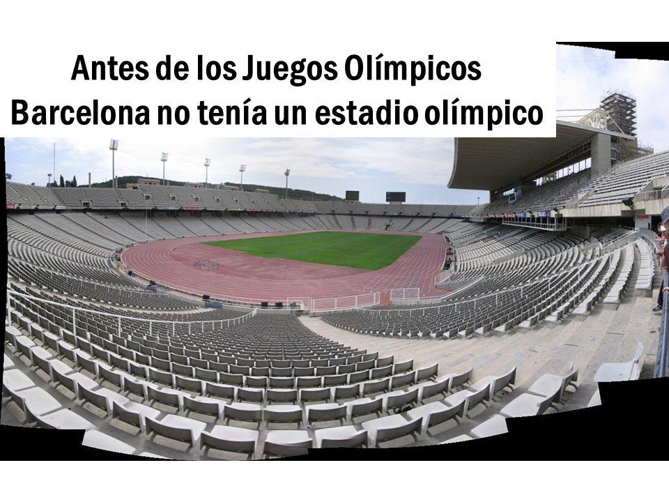 Barcelona Una Ciudad Olimpica Ppt Descargar