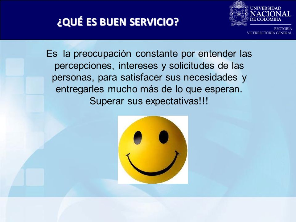 Superar sus expectativas!!!