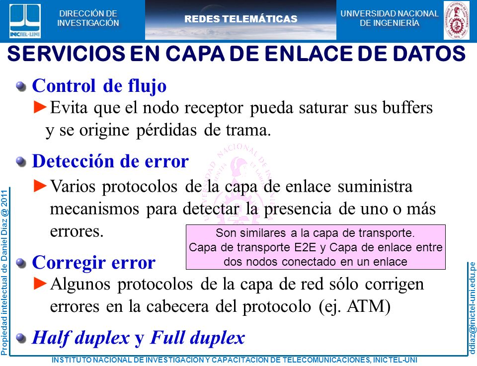 CAPA DE ENLACE CURSO: REDES TELEMÁTICAS - ppt descargar