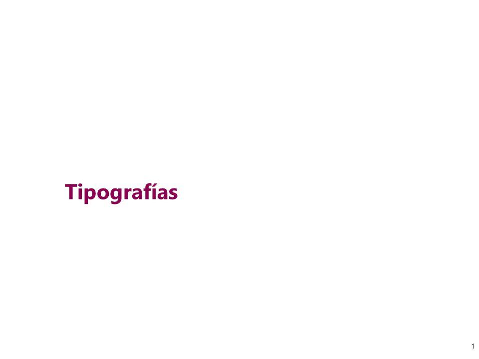 1 Tipografías 1