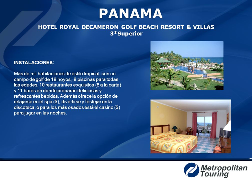 PANAMA HOTEL ROYAL DECAMERON GOLF BEACH RESORT & VILLAS 3*Superior