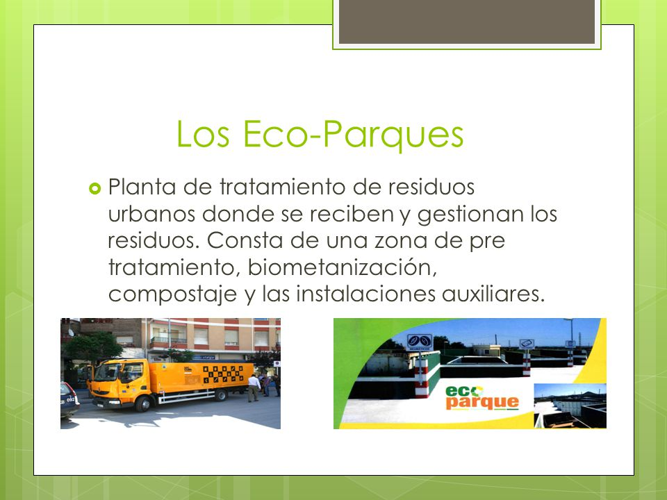 Los Eco-Parques