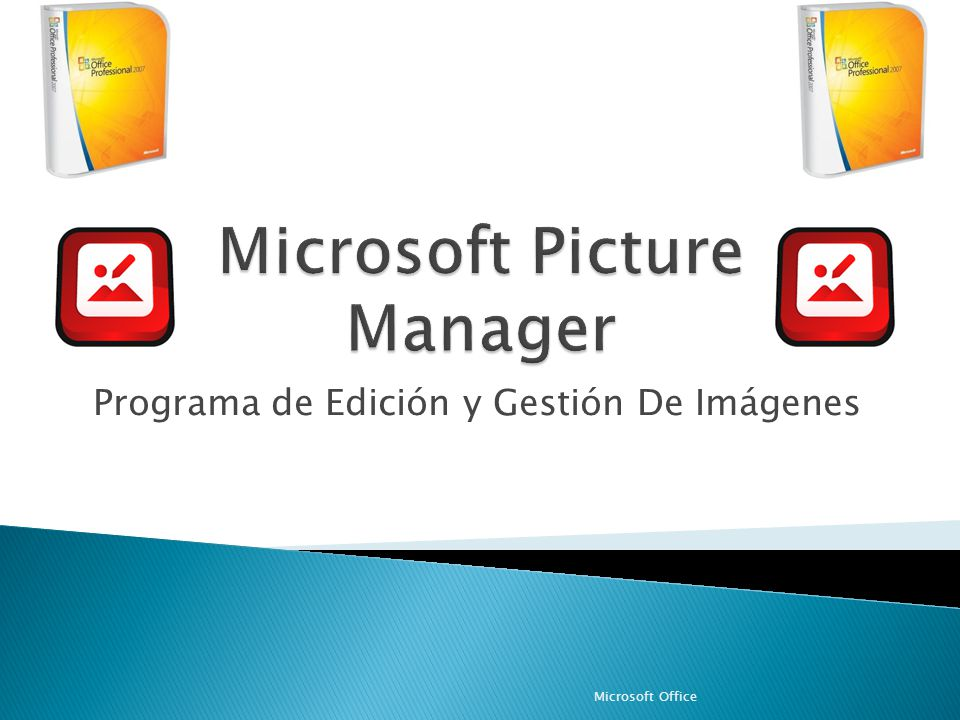 Microsoft Picture Manager
