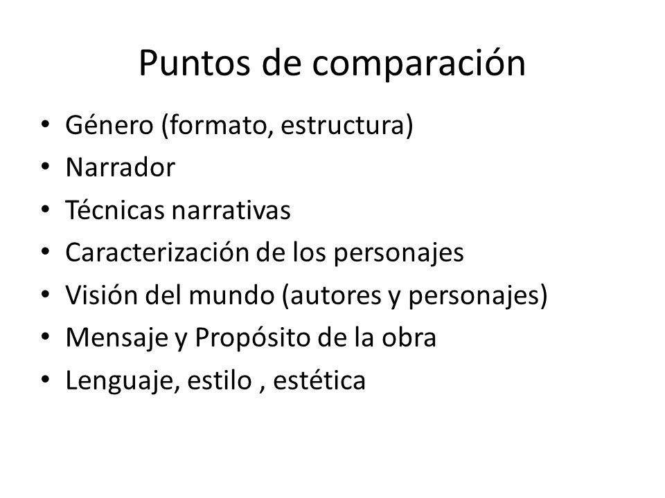 Don Quijote Y El Lazarillo Comparación Y Contraste Ppt