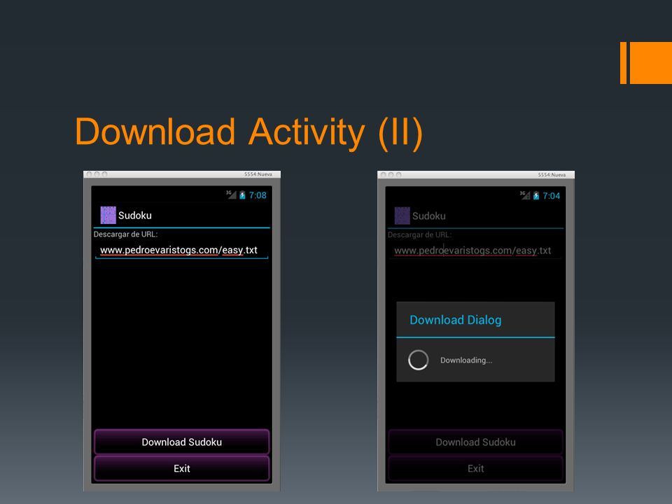 Download Activity (II)