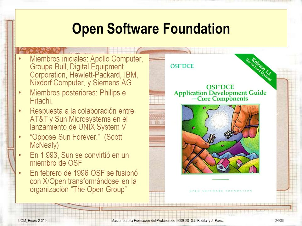 Open Software Foundation