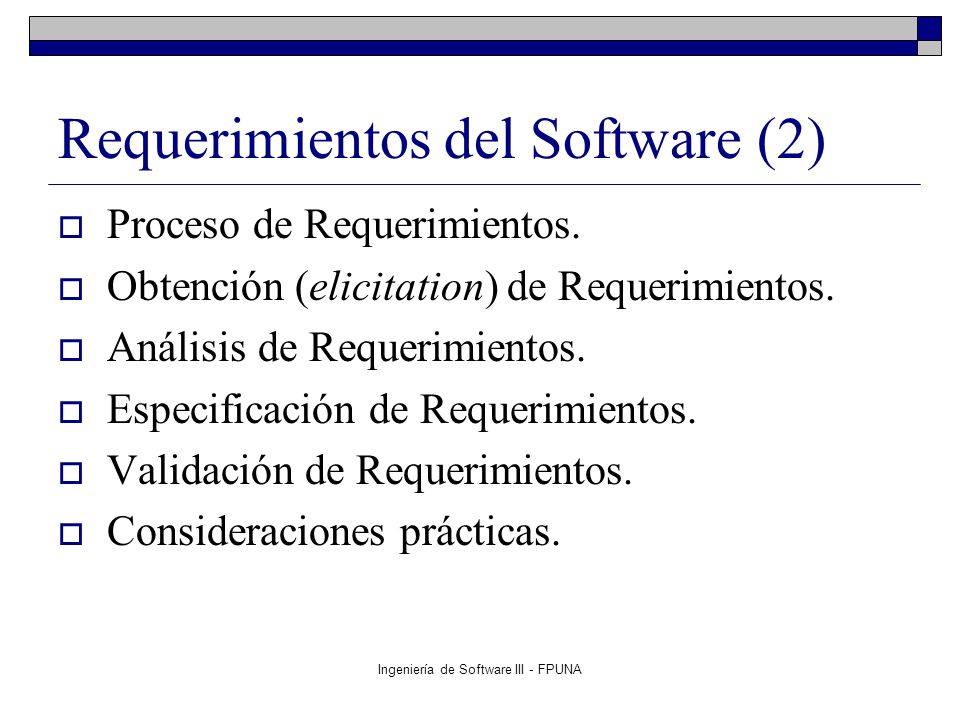 Requerimientos del Software (2)