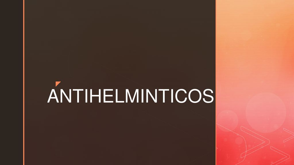antihelminticos reacciones adversas