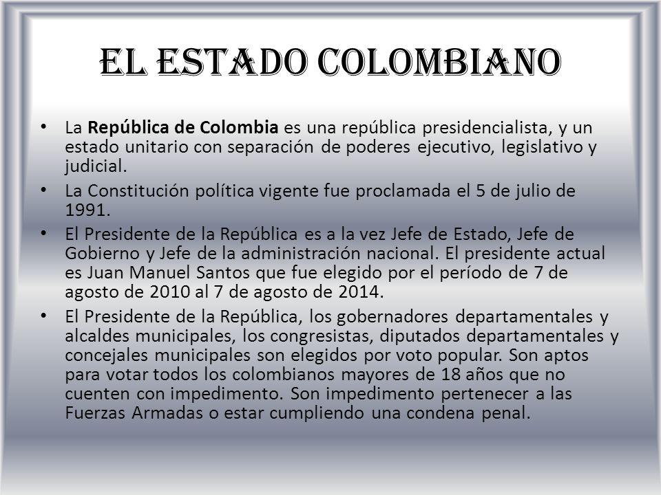 El Estado Colombiano Y Su Estructura De Poder Ppt Video