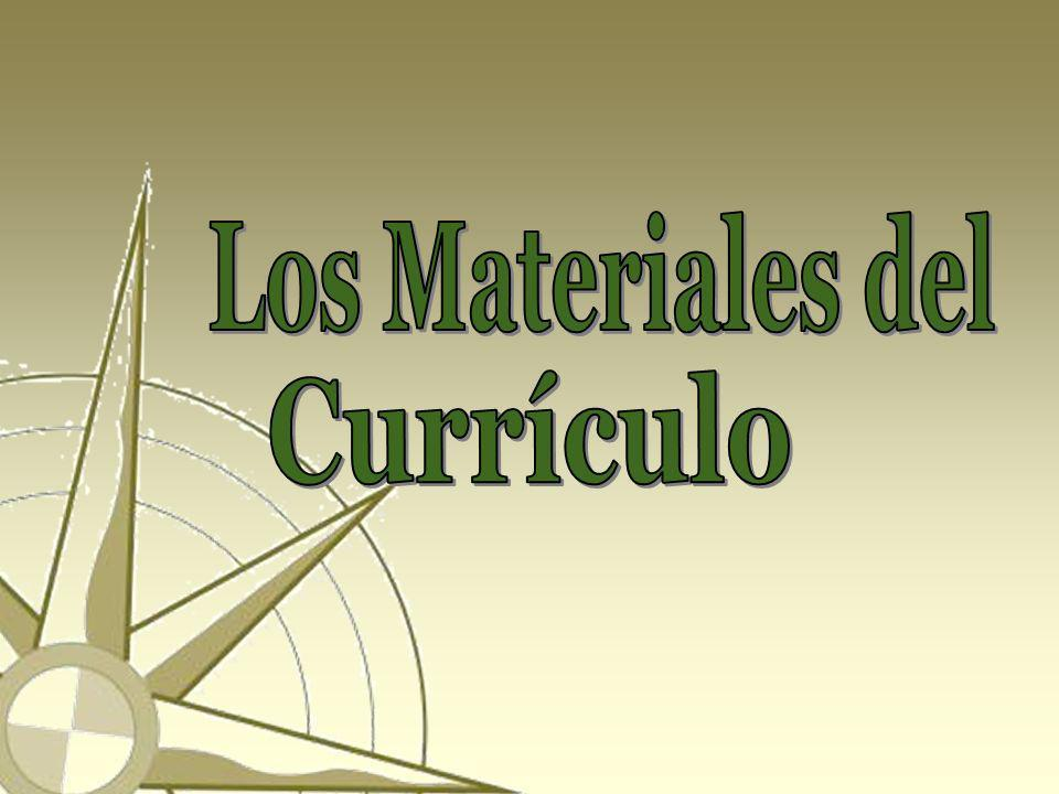 Los Materiales del Currículo