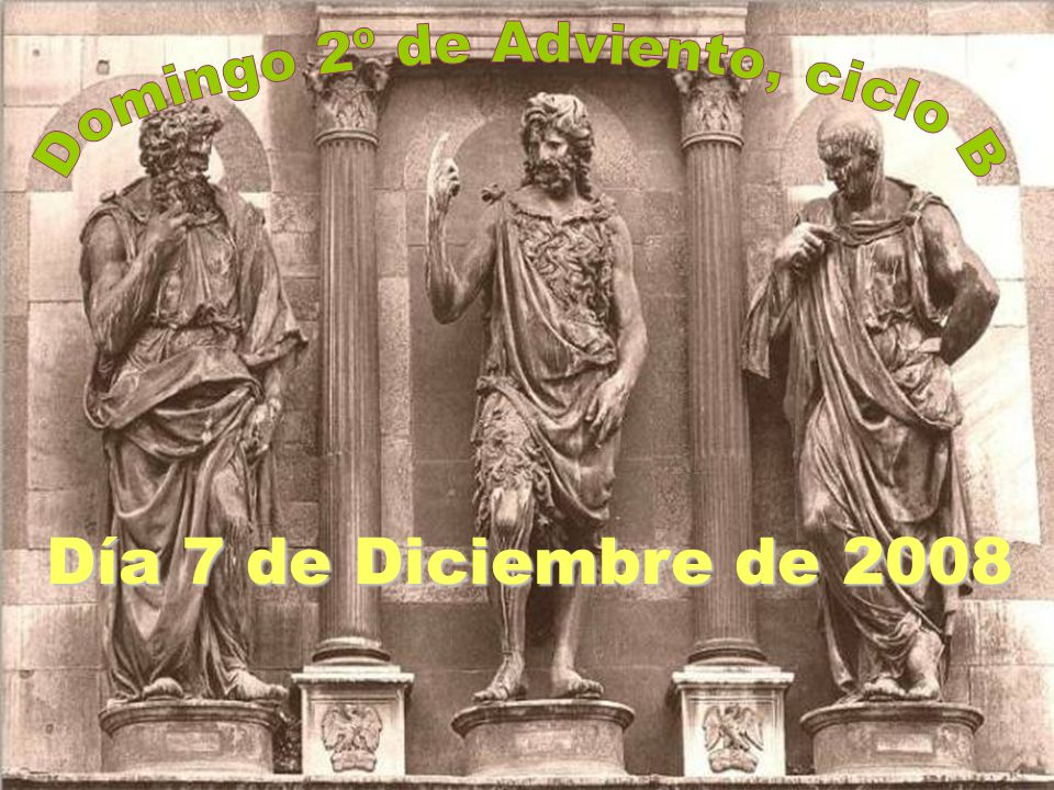 Domingo 2º de Adviento, ciclo B