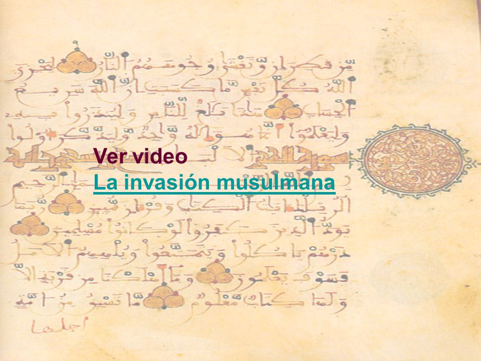 Ver video La invasión musulmana