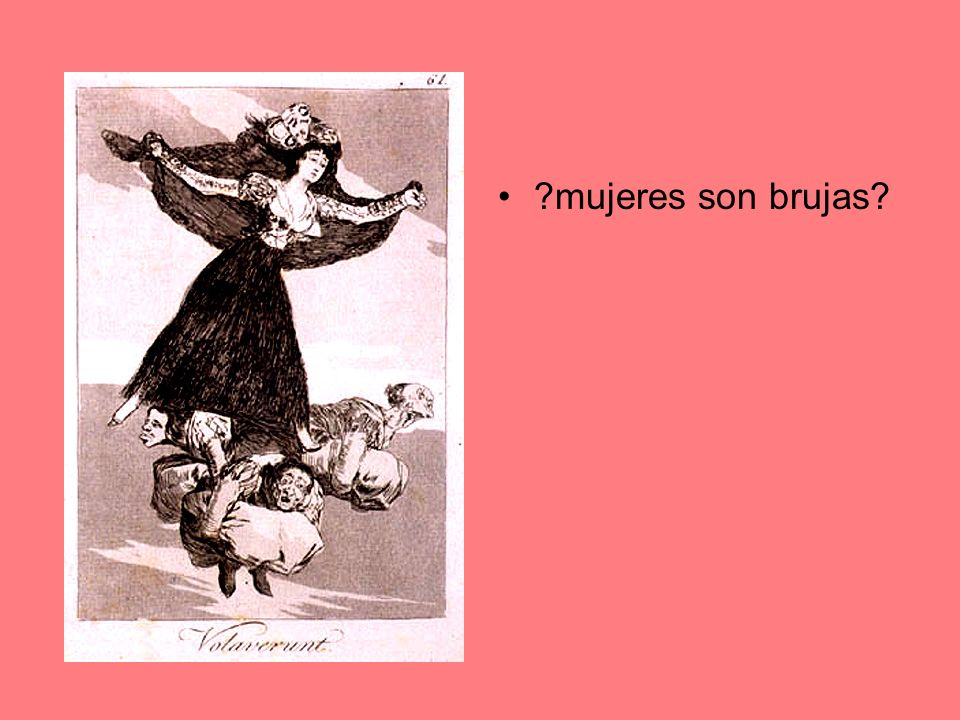 mujeres son brujas