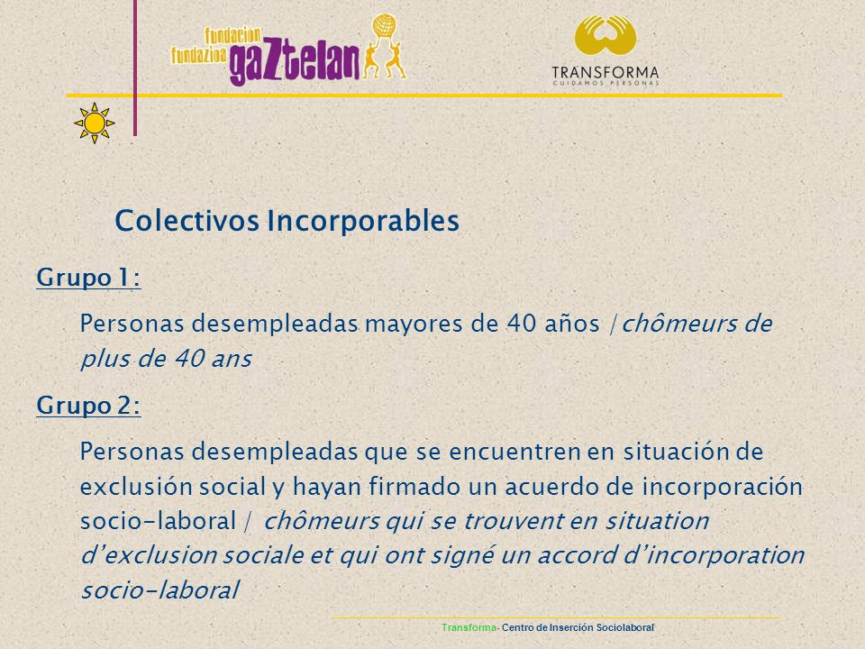 Colectivos Incorporables