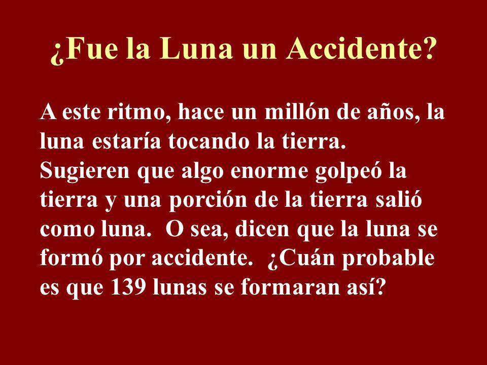 ¿Fue la Luna un Accidente