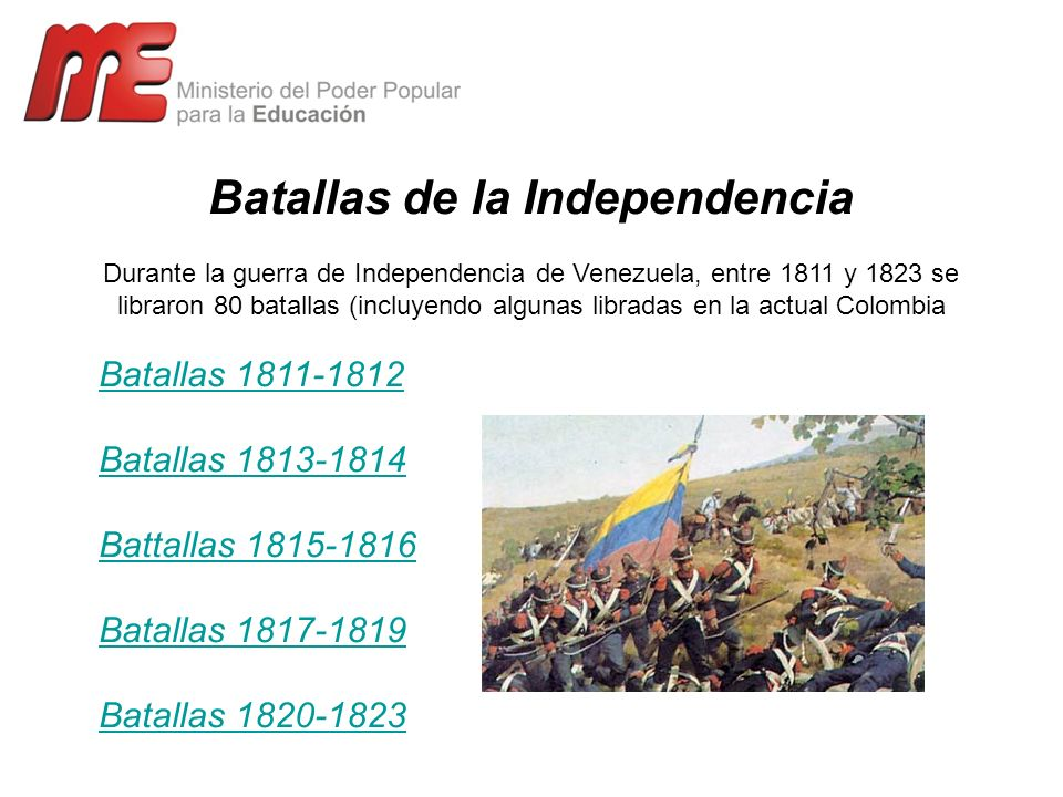 Batallas de la Independencia