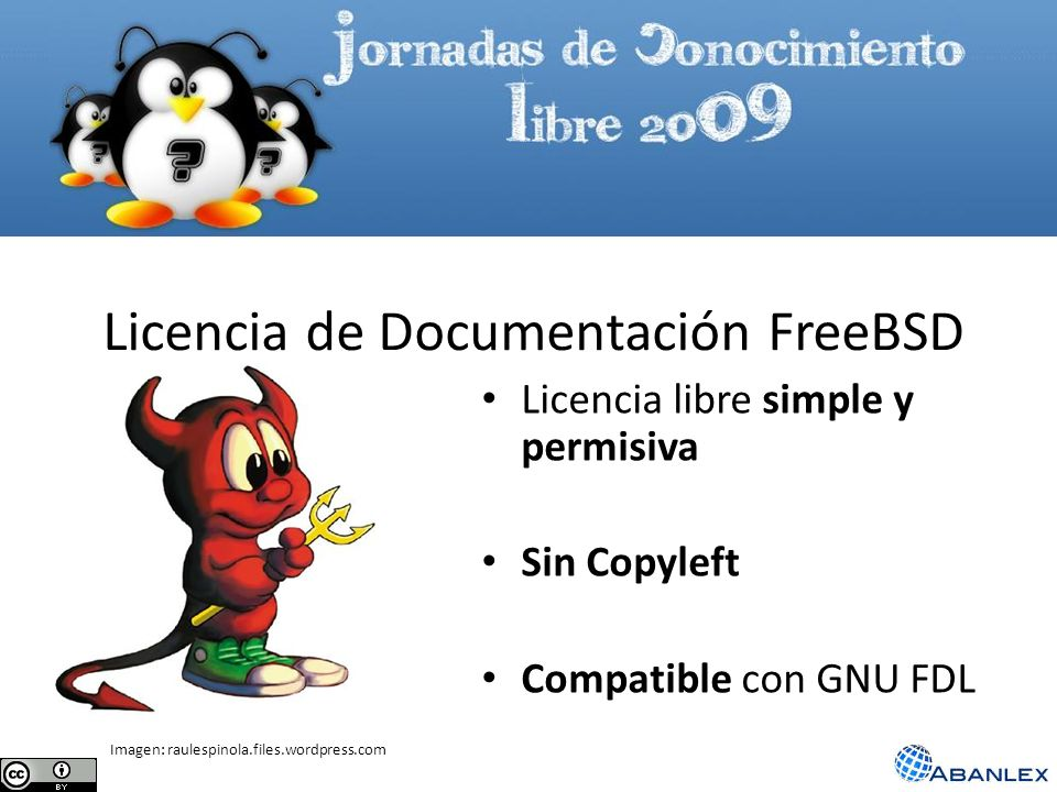 Licencia de Documentación FreeBSD