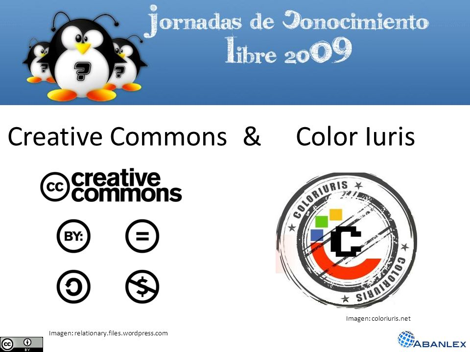 Creative Commons & Color Iuris