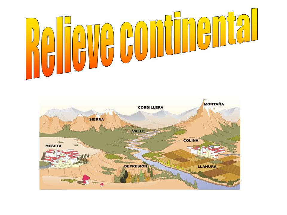 Relieve continental