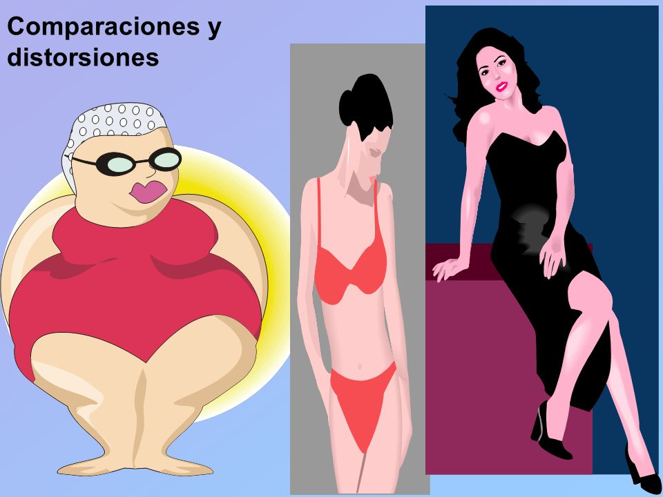 Comparaciones y distorsiones