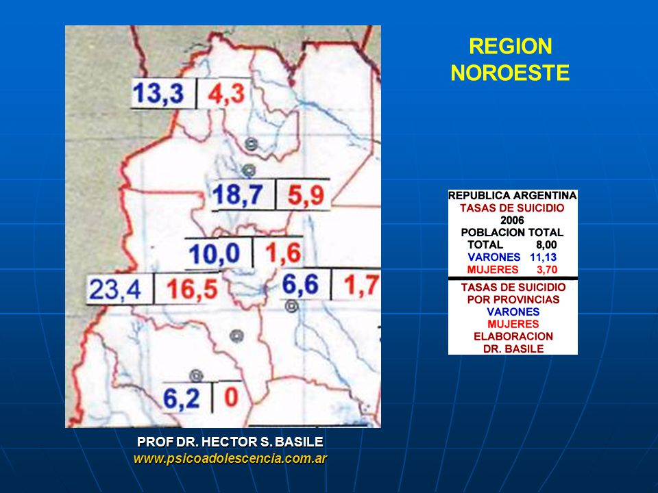 REGION NOROESTE PROF DR. HECTOR S. BASILE