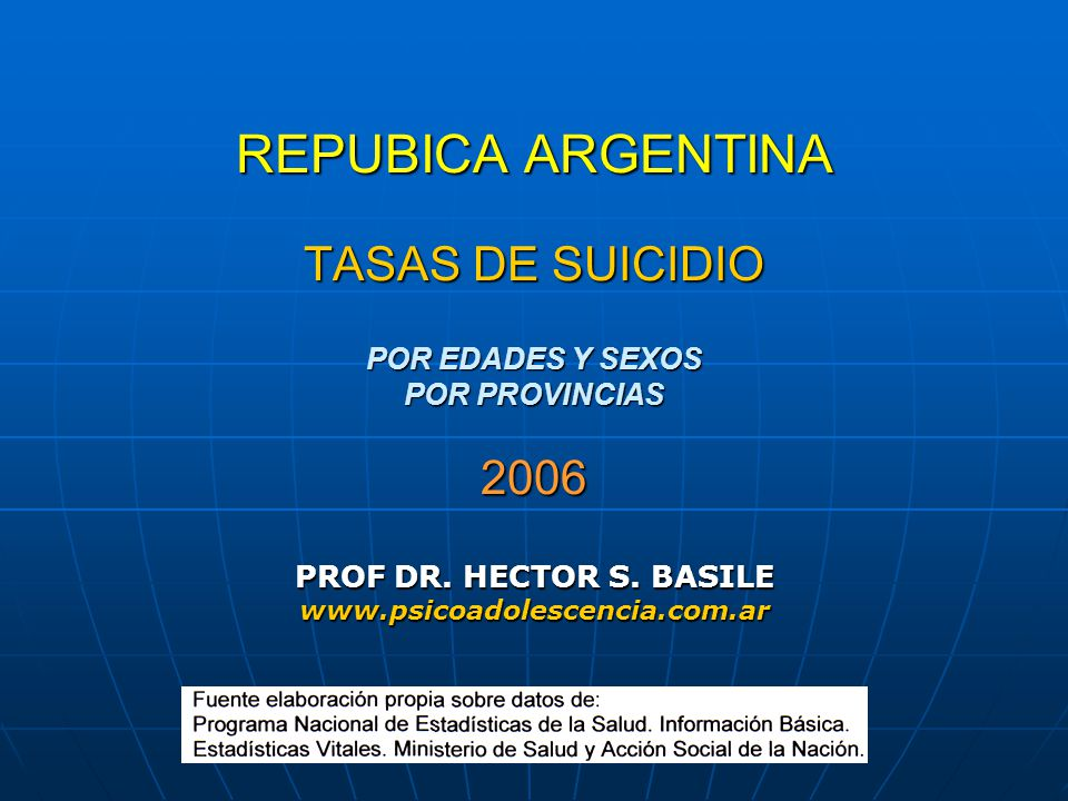 PROF DR. HECTOR S. BASILE