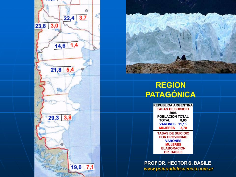 REGION PATAGÓNICA PROF DR. HECTOR S. BASILE