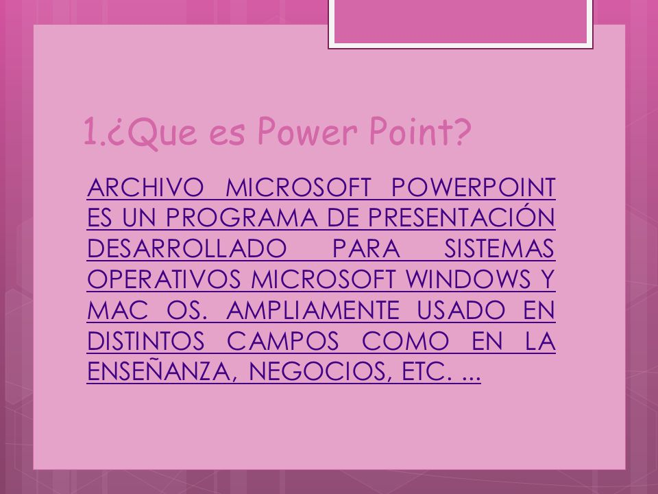 1.¿Que es Power Point