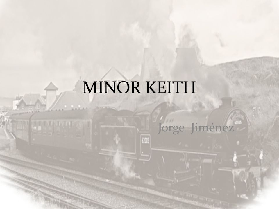 MINOR KEITH Jorge Jiménez