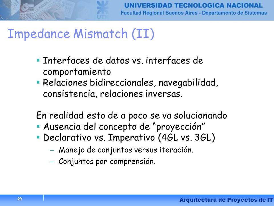 Impedance Mismatch (II)