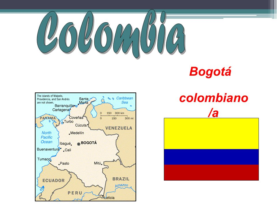 Colombia Bogotá colombiano/a