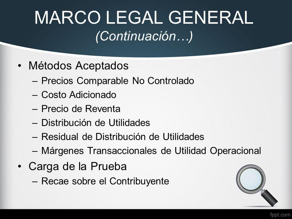 MARCO LEGAL EN PRECIOS DE TRANSFERENCIA - ECUADOR Ing. CPA - ppt ...