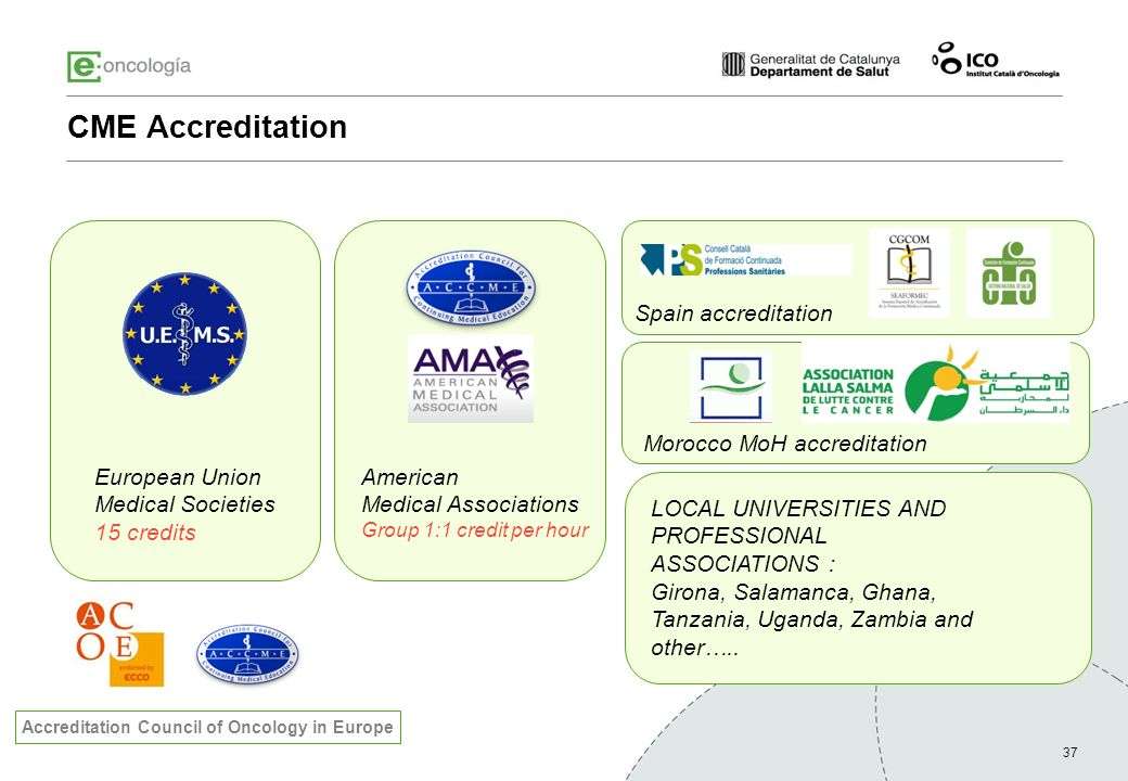 Accreditation Council of Oncology in Europe