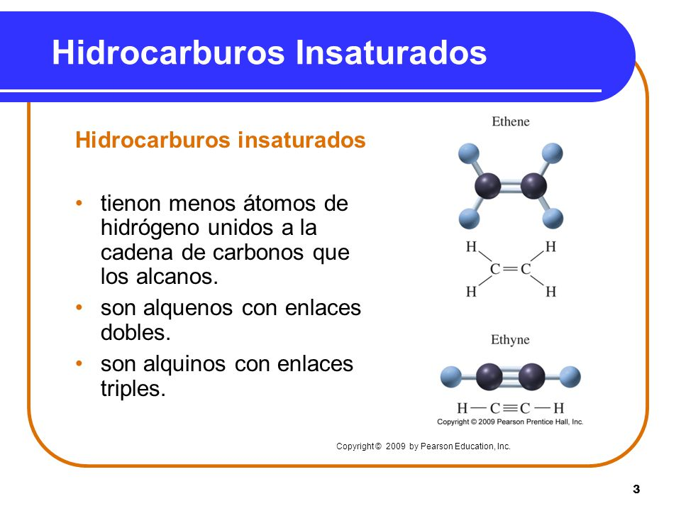 Hidrocarburos Insaturados