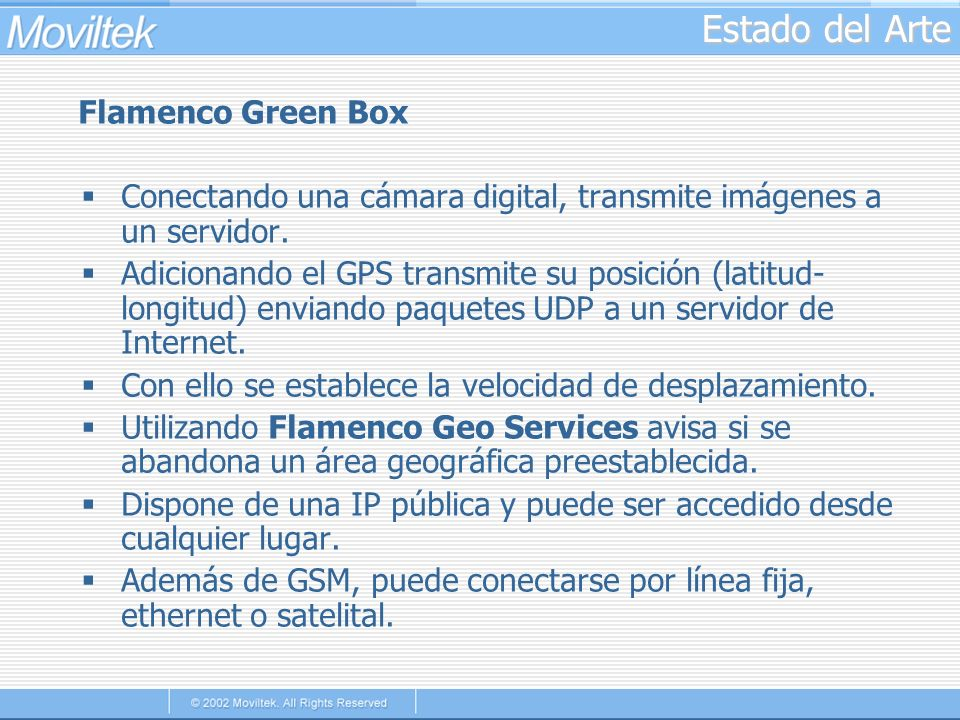 Estado del Arte Flamenco Green Box
