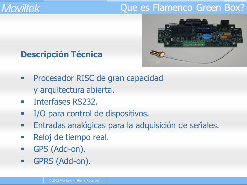 Que es Flamenco Green Box