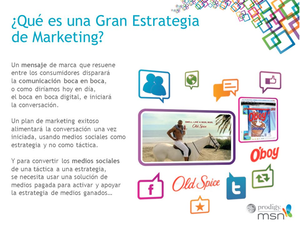 ¿Qué es una Gran Estrategia de Marketing