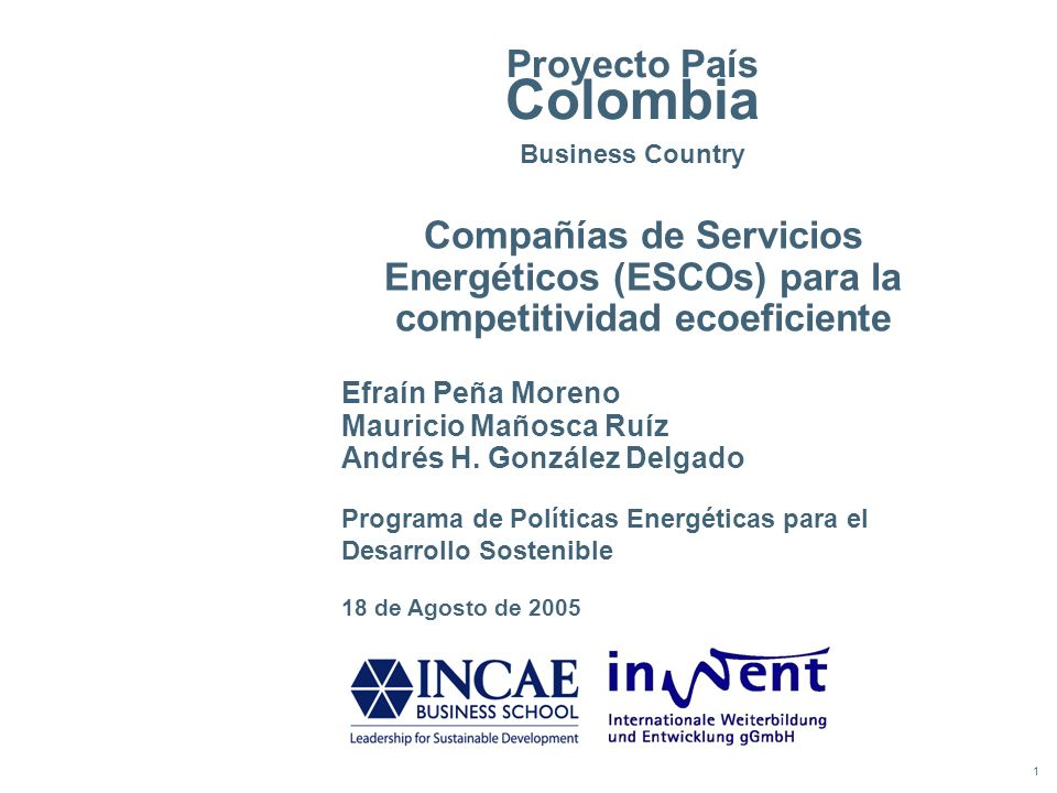 Proyecto País Colombia Business Country