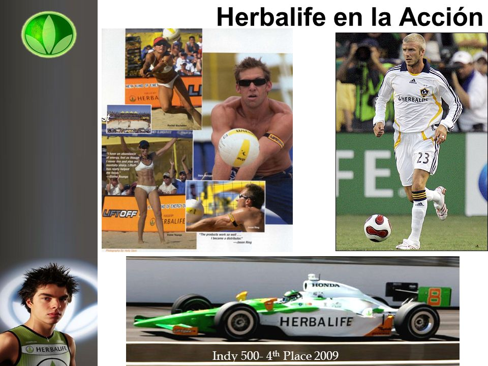Herbalife en la Acción Indy th Place 2009 Elaine Young