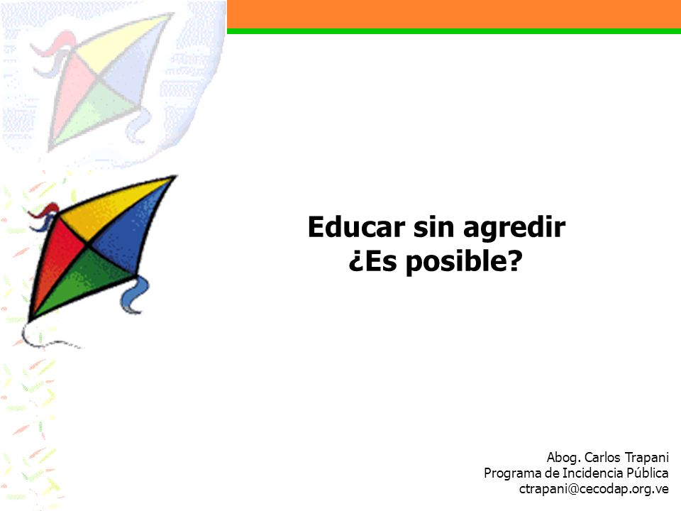 Educar sin agredir ¿Es posible