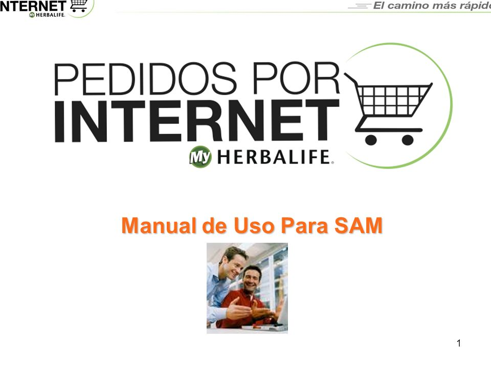 3/23/2017 Manual de Uso Para SAM 2003_CorpTemplate-V3.ppt